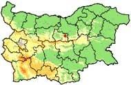 Relefna Karta Na Blgariya Grad Dryanovo